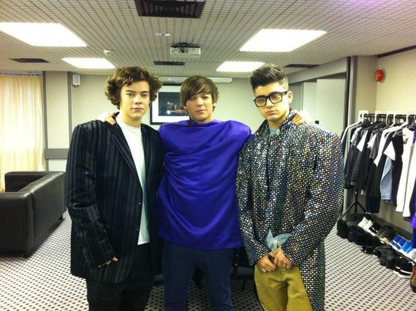 Louis Harry Zayn <3