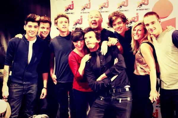 One Direction sur Nrj (1)