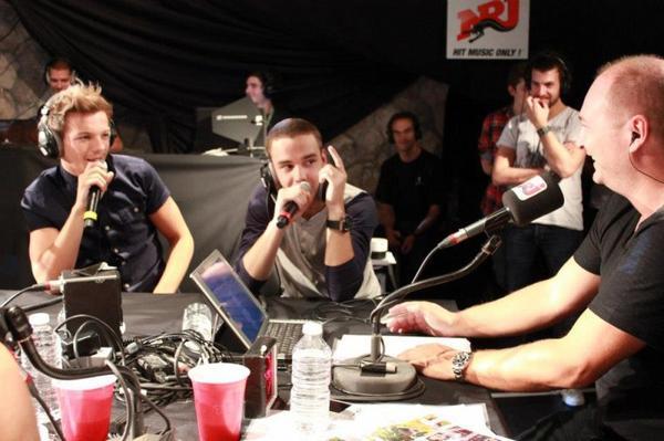 One Direction sur NRJ (2)