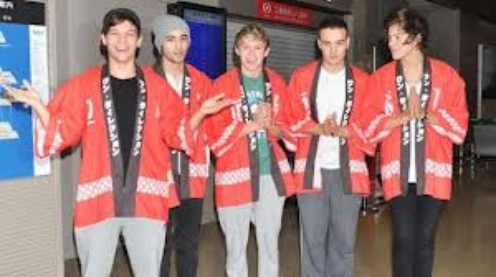 One Direction au Japon