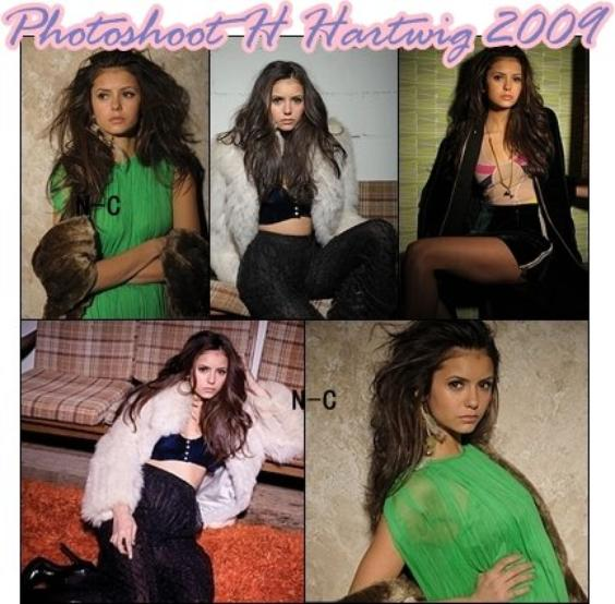 Flash Back: Photoshoot H Hartwig 2009 + Nina au 12th Annual Young Hollywood Awards