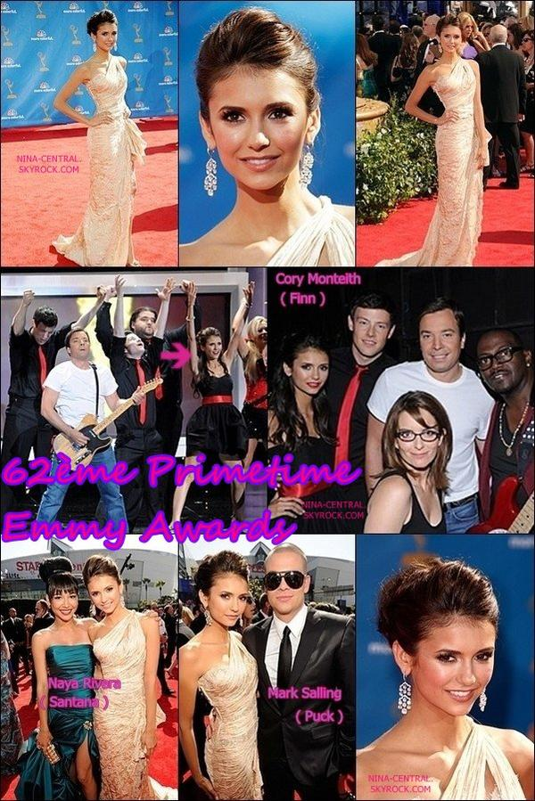 29/08/2010: 62th Primetime Emmy Awards