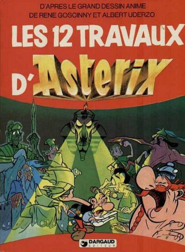 ASTÉRIX possession ALBUM DE FILMS