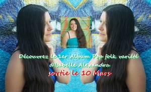 """je n'ai plus le temps""  ""i haven got no more time""  1er Album d'Isabelle Alexandra"