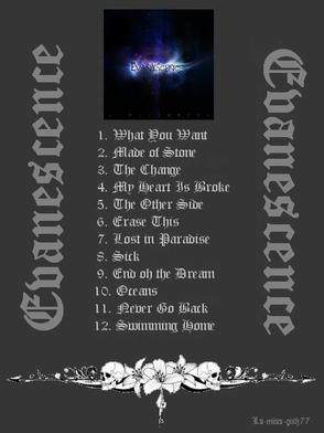 ♪ Présentation d'un groupe : Evanescence ♫
