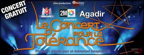 Concert de la Tolérance !