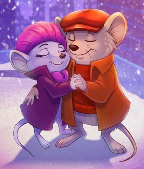 L'amour chante pour la Saint Valentin.