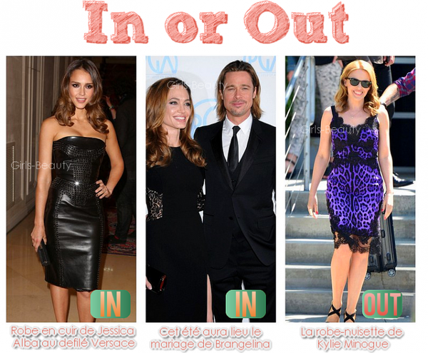 IN or OUT : Six images, des in et des out, mon avis est là, et le votre ?