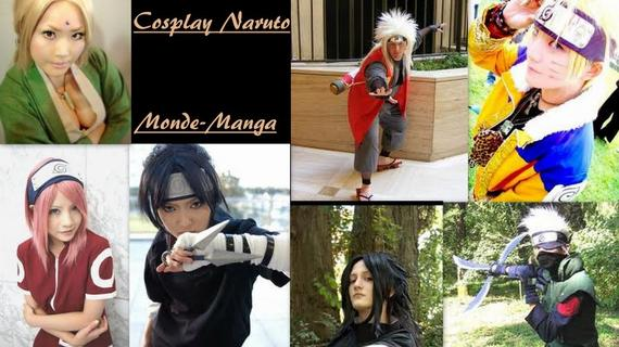 ♥ Cosplay ↓ Naruto ♥