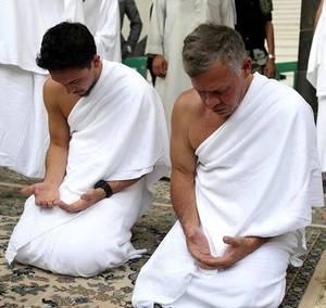 Le roi Abdullah II de Jordanie et le Prince Héritier Hussein de Jordanie à La Mecque !
