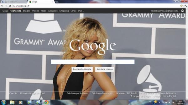 Voila Mon Fond D'ecran De Google ! ♥