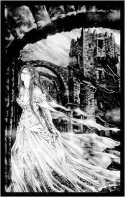La Dame Blanche du château de Hohenbourg