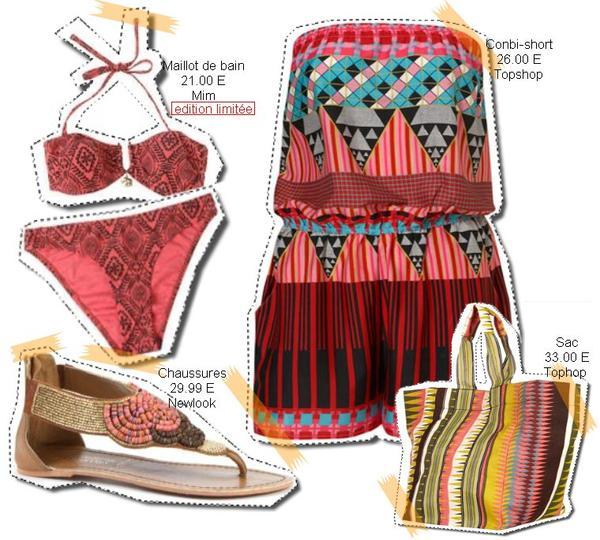 S'habiller pour aller à la plage.