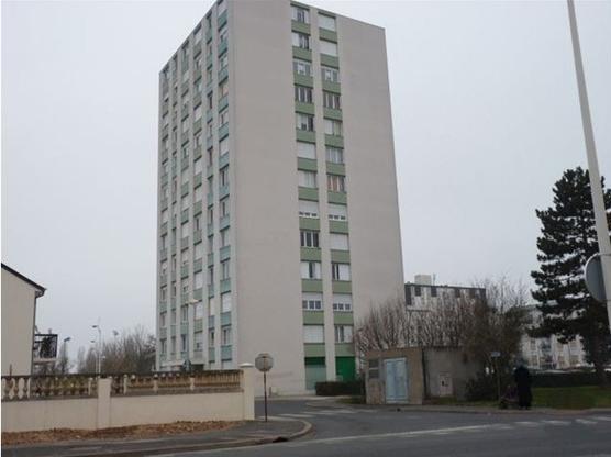 Une tour de la ZUP de la Rabière, Joué les Tours.