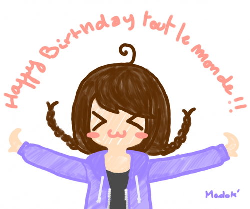 Sommaire : Happy birthday !!