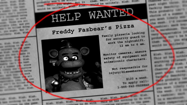 #BestOf 26 : Five nights at Freddy's