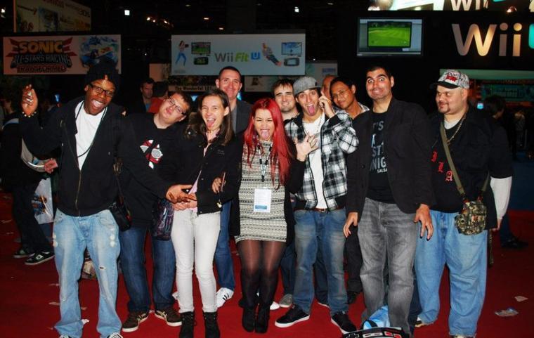 Rencontre au Paris Games Week 2012 !