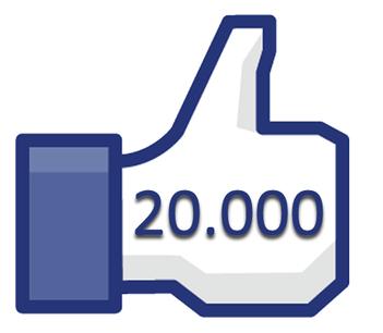 """20 000 """"J'aime"""" sur ma Page Facebook !"""