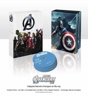 Un Coffret Blu-ray Marvel de 6 films à gagner + un objet perso (Concours Terminé !)