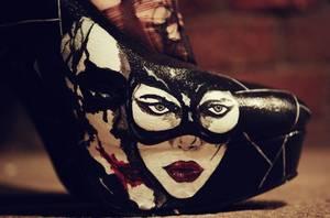 Nouveau Shooting Photo ! (Harley Quinn Theme + Joker High Heels)
