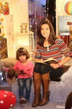 Adeline Blondieau Avec Ses Enfants