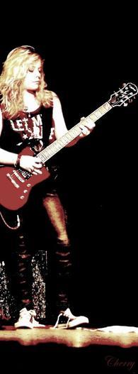 1st show as a lead guitarist.