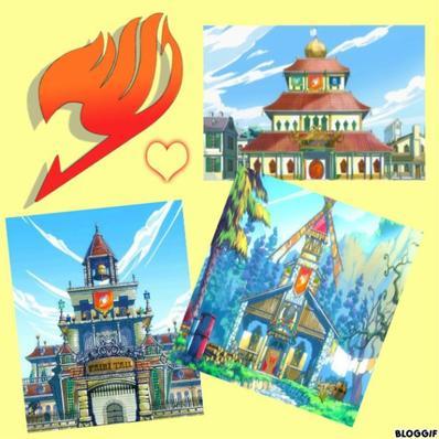 La Guilde de Fairy Tail