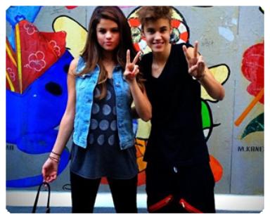 Justin Bieber et Selena Gomez ♥