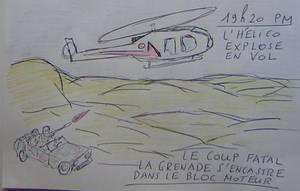 """"""" J'ai participé aux recherches de l'hélicoptère de Daniel Balavoine dans le désert."""" Claude Brionne"""