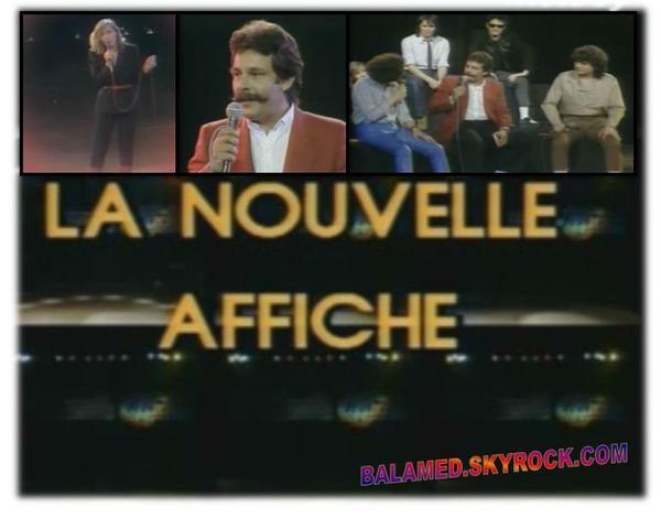 """""""La Grande Affiche"""" avec Balavoine & Berger du 14 au 20 Janvier 2012 sur Melody Tv"""