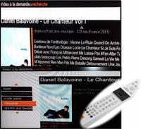 """""""LE CHANTEUR"""" SUR LIVEBOXSTAR"""