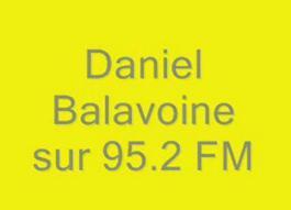 Daniel Balavoine sur 95.2 FM