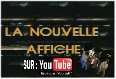 La nouvelle affiche avec Berger & Balavoine sur Youtube