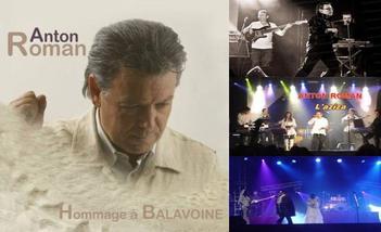 Anton Roman chante Balavoine le 12 octobre 2012 à Mondelange