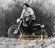 """""""Quelques années plus tard, quand le drame est arrivé, sa moto était à l'atelier pour une banale révision. Elle est restée, sous une housse, dans la réserve motos, pendant un an, (nous évitions de la regarder!)... jusqu'à ce qu'un de ses proches vienne la récupérer..."""" J.B"""