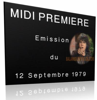 Midi Première - SPÉCIAL Francis CABREL avec Daniel Balavoine du 18 au 24 Mai 2013 sur Melody TV