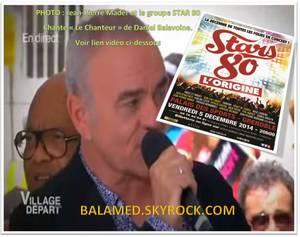 « Je chante par exemple du Michel Berger, du Daniel Balavoine » (Patrick Hernandez)