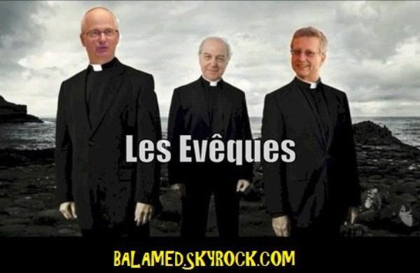 Des évêques parodiant « Je ne suis pas un héros »