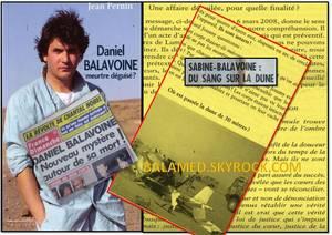 Le livre explosif « Daniel Balavoine, meurtre déguisé ? » disponible depuis le 8 juillet 2015 en librairie & sur Amazon.fr (Partie 1/2)