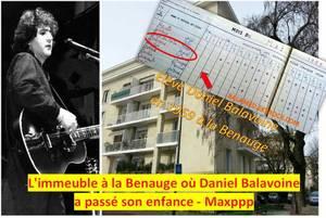 Quand Daniel Balavoine était l'écolier du quartier de la Benauge à Bordeaux