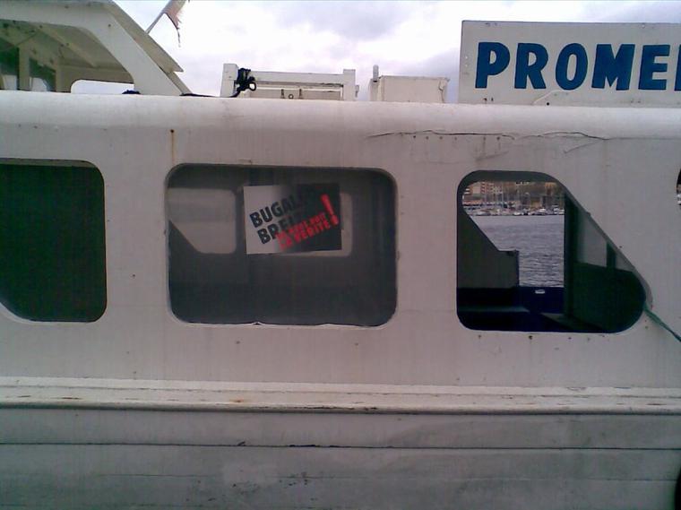 les commercants port vendrais soutiennent le bugaled breizh