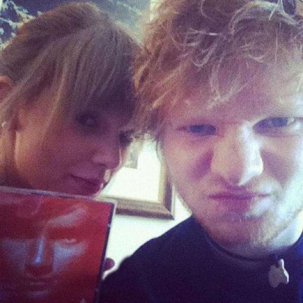 Jessica Hart et Taylor/ Ed Sheeran et Taylor Swift