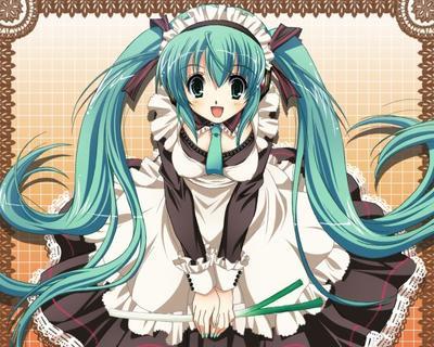 Mon projet n°5 : Miku Hatsune version Gothic Lolita