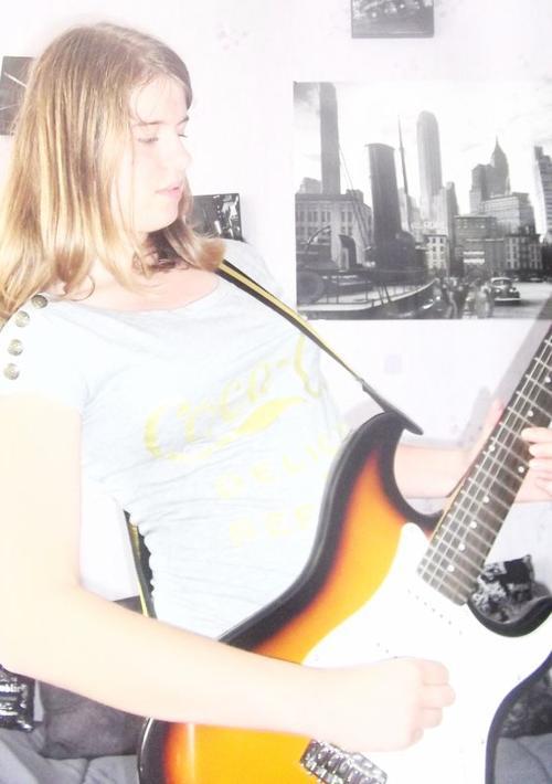 la seul discorde que j'aime est la guitare. Ma guitare....