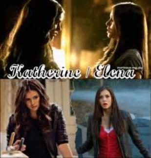 Elena et le double pétrova de Katherine