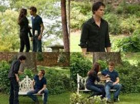 Saison 2 episode 1 Katherine, Bonnie et Stefan