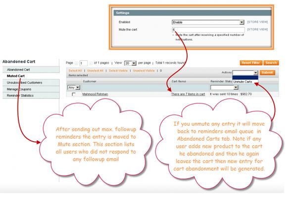 Magento Abandoned Order | Cart | Reminder Emails Extension
