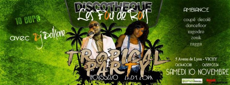 ATTENTION SAMEDI 10 NOV DISCOTHEQUE FOU DE ROY VICHY !! MASSSIFFFF