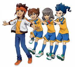 Présentation du manga Inazuma Eleven (GO)