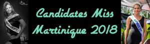 Candidates Miss Martinique 2018